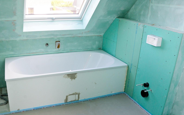 Trockenbau für Ihre Badezimmer oder Haus