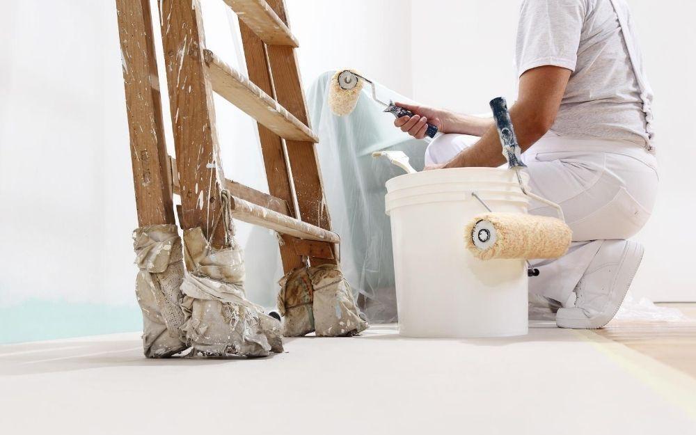 Hochwertige Malerarbeiten für Ihre Wände im Badezimmer